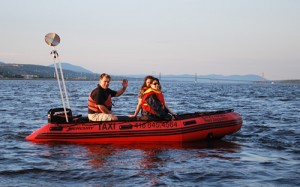 Water Taxi - Beach Quebec - Baie de Beauport