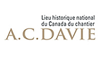 Logo - Lieu historique national du Canada du chantier A.C. Davie