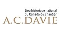 Logo - Lieu historique national du Canada du chantier A.C. Davie