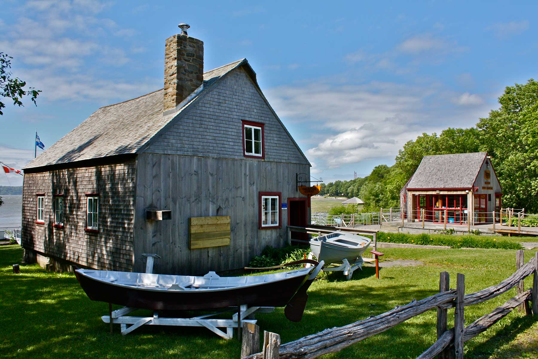 Parc maritime - musée de fabrique de bateau