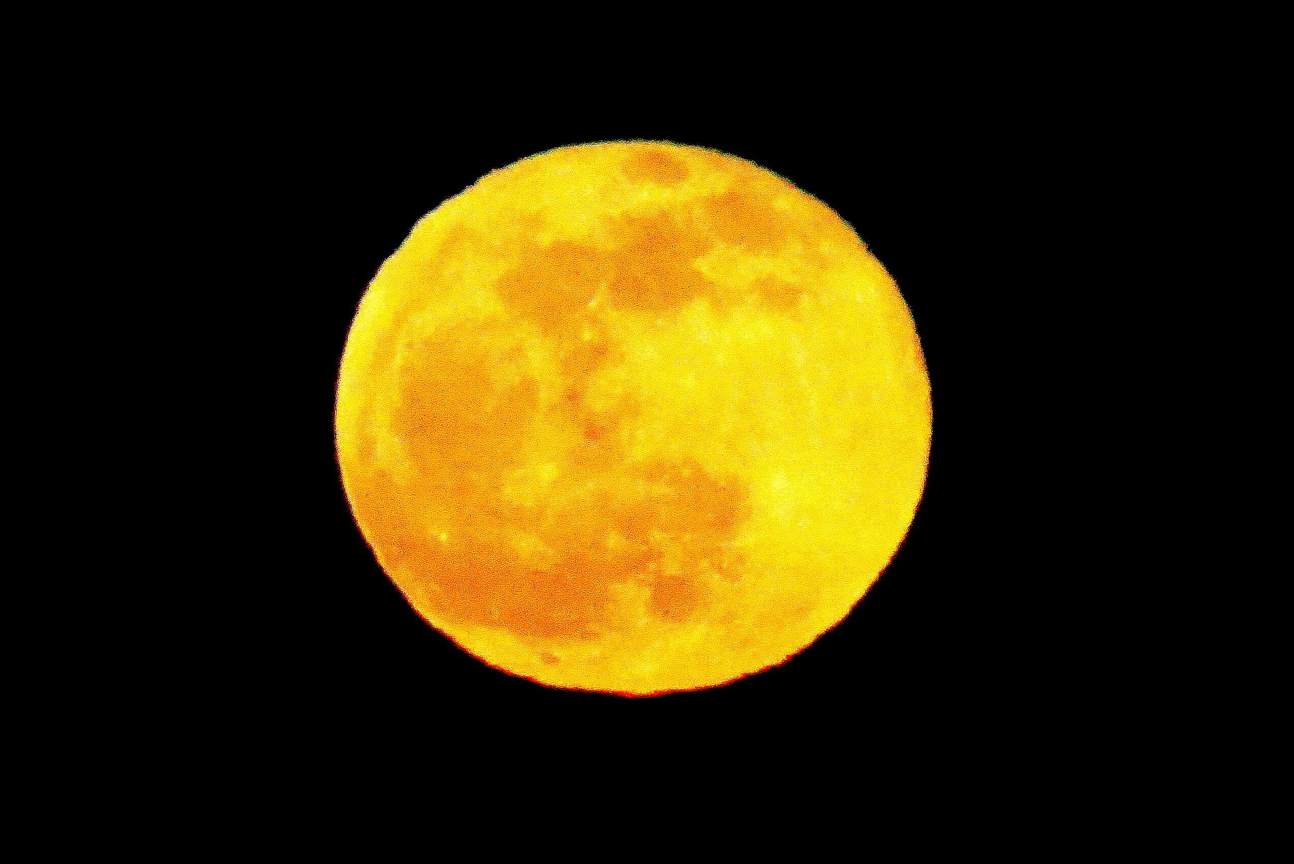 Zodiac et pleine lune
